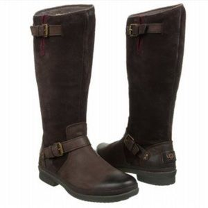 Ugg Thomsen Waterproof Leather Knee High Boot